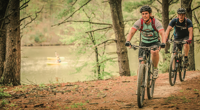 mountain biking roanoke