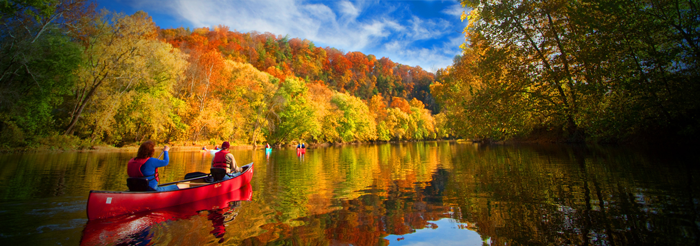 Pete S Pick The Best Way To See Fall Colors Is From A