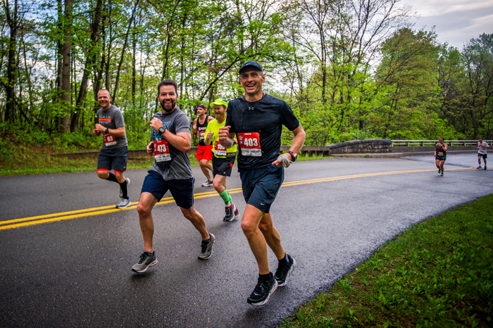 blue ridge marathon relay
