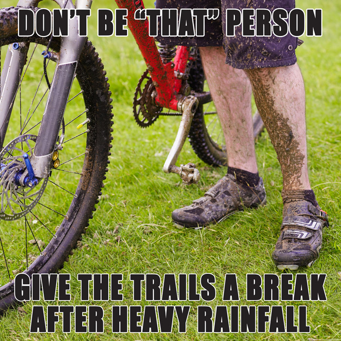 protect wet trails