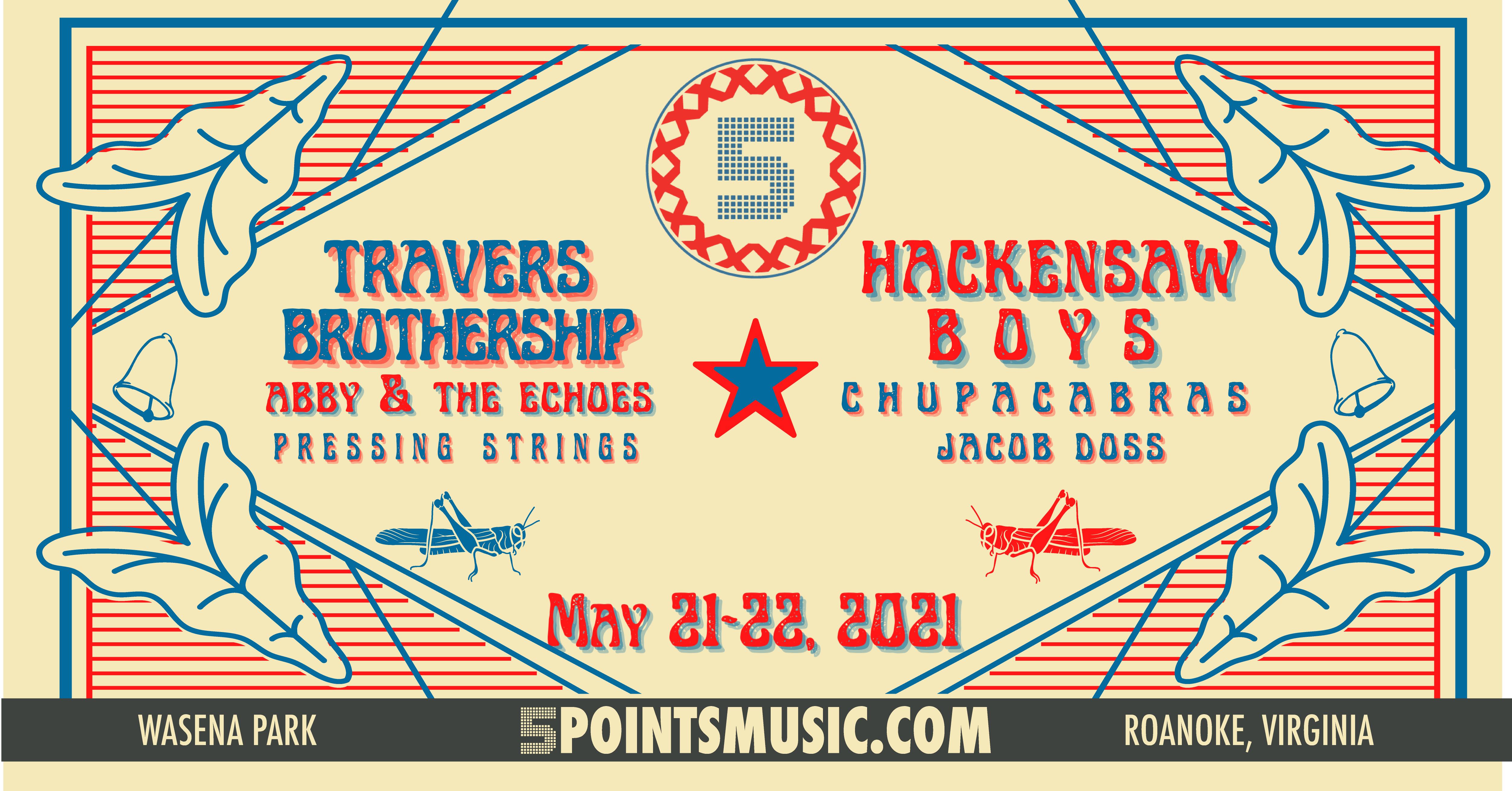 5 PTS Outdoors Concert Brother Travership and Hackensaw Boys