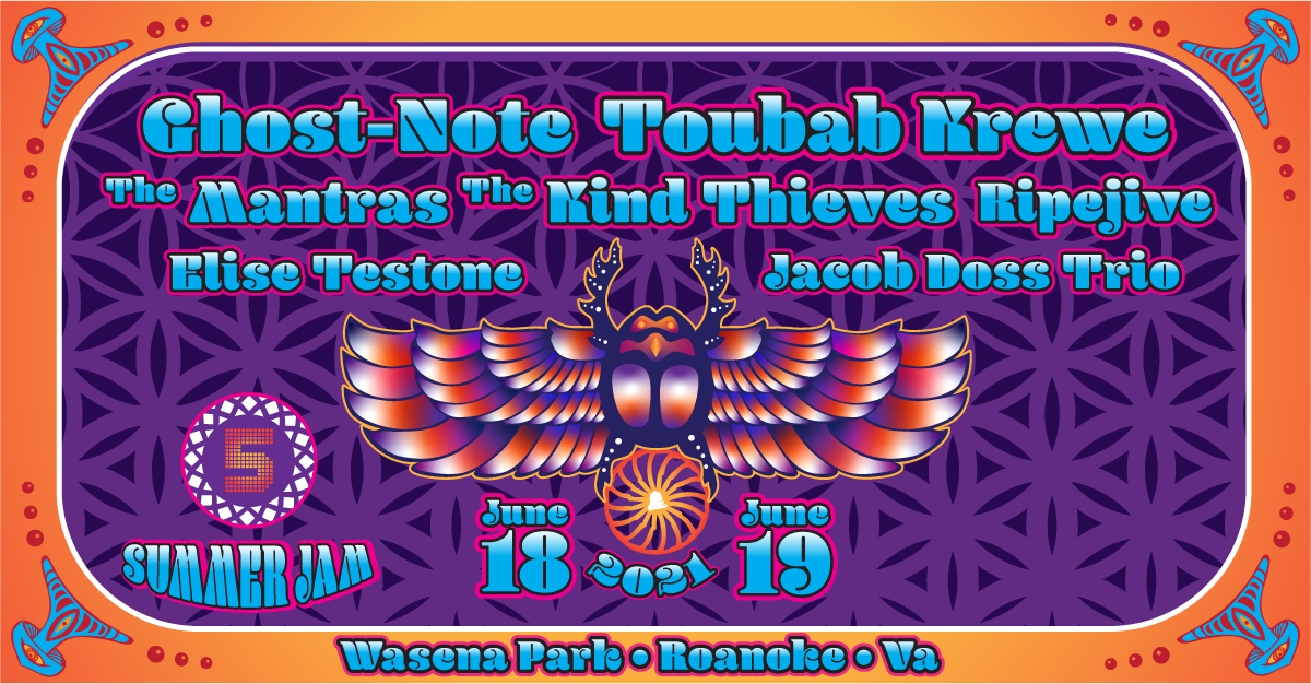 5 PTS Outdoors Concert Toubab krewe ghost note